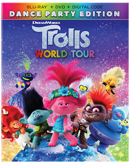 Trolls World Tour available on Blu-Ray July 7th