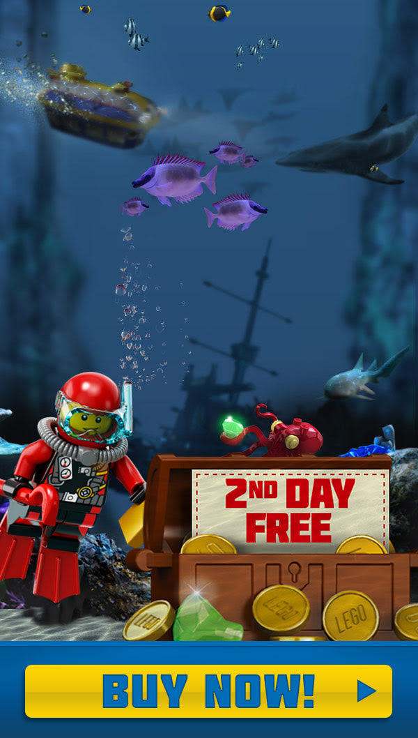LEGO® City: Deep Sea Adventure Submarine Ride At LEGOLAND® California
