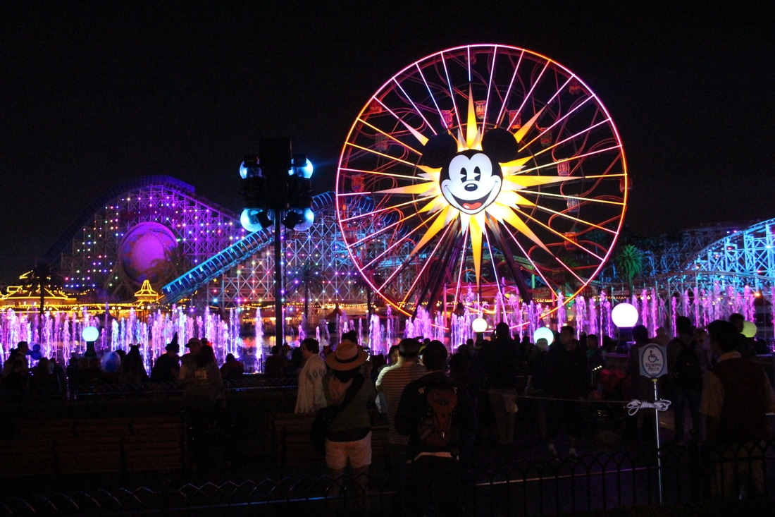World of Color reserved seating Disneyland package