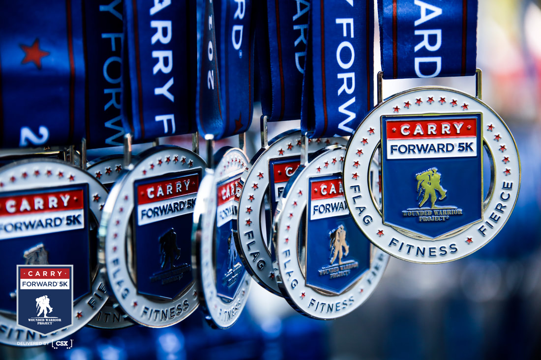 Join me for the Wounded Warrior Project (WWP) Carry Forward 5K, delivered by CSX